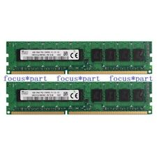 New Hynix 16GB 2 x 8GB PC3-10600E DDR3 1333Mhz ECC Unbuffered Memory RAM 240Pin