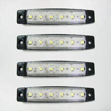 NUOVO 4 x 12V BIANCA A LED luci di posizione laterali frecce per FIAT DUCATO