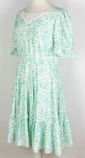 Vintage Malco Modes Partners Please! Tiered Western Dress Uk 14/Eu 42 149 P