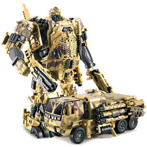 Transformers Last Knight  Hound M02 Robot Truck Military Model Action Figure Toy