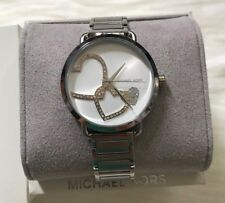Brand New Michael Kors Silver-tone Portia Women's Watch MK3824