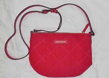 NWT Vera Bradley PREPPY POLY CROSSBODY Shoulder Bag in TANGO RED purse 14896-480
