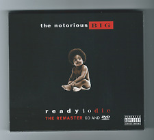 THE NOTORIOUS B.I.G. Ready to Die The remaster CD & DVD Rap US 2004 Comme Neuf