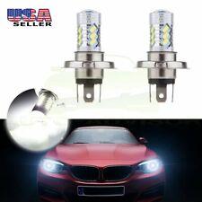 H4 9003 6000K High Power COB LED Bulb White Hi/Low Beam Motorcycle Headlight CHK