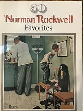 50 Norman Rockwell Favorites Suitable for framing - Exc Cond