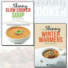 Skinny Winter Warmers & Skinny Slow Cooker Soup 2 Recipes 2 Books Collection NEW