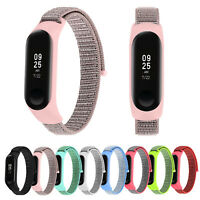 Nylon Loop Strap Protect Cover for Xiaomi MiBand 4 Mi Band 3 Bracelet Watchbands