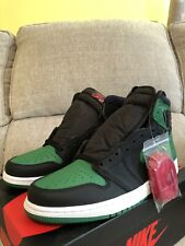 Air Jordan 1 Retro High OG Pine Green 2.0 555088-030 Size 9 New 100% Authentic!
