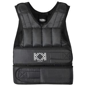 KK Weight Vest 10kg, 20kg Adjustable Fitness Strength Training Workout Exercise