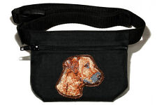 Embroidered Dog treat bag - for dog shows. Breed - Rhodesian Ridgeback