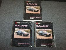 1999 Mitsubishi Galant Shop Service Repair Manual Set DE ES LS GTZ 2.4L 3.0L V6