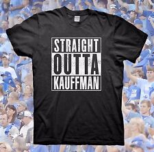 STRAIGHT OUTTA KAUFFMAN T-Shirt Kansas City Royals Bad Boys of KC Mets Nike Cubs