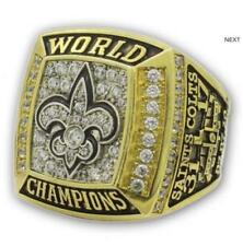 2009 New Orleans Saints World Championship Ring.Fan Gift !!