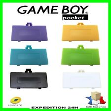 🕹️ CACHE PILE NEUF POUR GAMEBOY POCKET GBP game boy Top Qualité