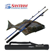 "SANTIAM FISHING RODS 2 PC 6'0"" 80-120 LB HALIBUT/TUNA ALASKAN TRAVEL SERIES"