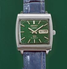 Vintage 1960's Seiko 5 ACTUS SS Incredible Metallic Dial Men's Watch 6306-5000