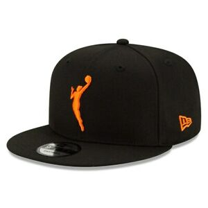WNBA New Era 9FIFTY Snapback Adjustable Hat - Black