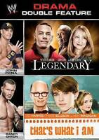 WWE DBLE FEATURE LEGENDARY & THAT'S WHAT I AM DVD Brand New seal ships NEXT DAY