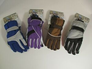 NWT TRUFIT Women's Waterproof Insulated Winter Everyday Ski GLOVES~Size M-L