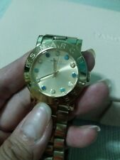 Pre-loved Marc Jacobs gold and teal watch
