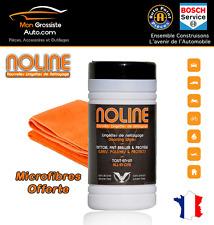 NOLINE Pack 80 lingettes de nettoyage + Microfibre NOLINE QUALITE PREMIUM OFFERT