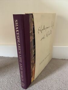 Shakespeare's Life and World - Katherine Duncan Jones - Folio Society - Like New