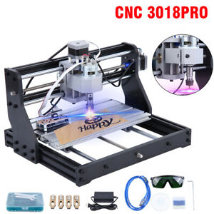 CNC3018 PRO CNC Router Kit Laser Engraving Machine GRBL Control 3Axis PCB W/ER11