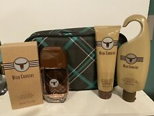 Avon Holiday Dopp Kit - Black Suede or Wild Country ~ 4 piece sets ~ You choose