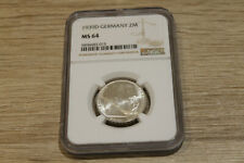 Germany 2 reichsmark 1939D NGC MS 64 @ low start