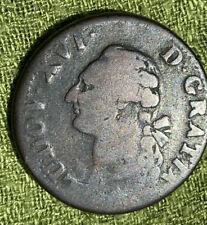 France Sol 1778 W - Copper - Louis XVI