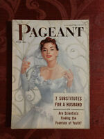 PAGEANT June 1954 Stephanie Griffin Frank Sinatra Starlets Jayne Audrey Meadows