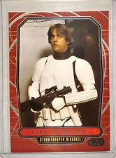 Topps Star Wars Galactic Files S1 #96 Luke Skywalker Disguise Photo Variation SP