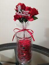 Happy Valentine's Day Bear in a Vase