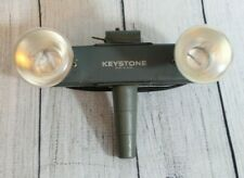 Keystone E23714 L20 Double Twin Bulb Movie Light Lamp Vintage WORKS