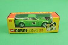 1:43 CORGI TOYS whizzwheels N. 316 FORD GT 70 FONDO MAGAZZINO [RR3-051]