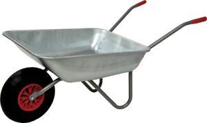 LIMEX Gartenkarre Schubkarre schieben Luftrad 80l Liter NEU 150kg Tragfähigkeit