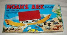 1971 CADACO NOAHs ARK GAME CHICAGO IL PRE SCHOOL GORILLA ELEPHANT POLAR BEAR TOY