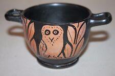 Qualité de la Grèce antique Red figure pottery Hibou skyphos 4th Century BC Wine Cup