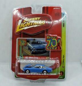 Johnny Lightning Those 70's Cars 1971 Chevy Vega Blue NEW