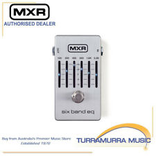 MXR M109S MkII Six Band Graphic EQ Equaliser 6-Band Effects FX Pedal Silver