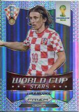 Panini Prizm WC 2014 World Cup Stars Refractor Parallel #23 Luka Modric
