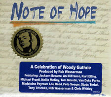 Note Of Hope (A Celebration Of Woody Guthrie) (NEW CD) Lou Reed Jackson Browne