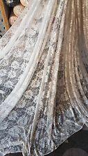 "1m champagne colour strech lace FABRIC 60"" WIDE"