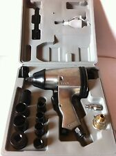 "NEW METRIC 17PCS 1/2"" AIR IMPACT WRENCH GUN KIT SOCKETS W/CASE"