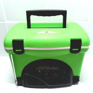 V Energy Drink Mini Esky Radio Cooler - Bright Green Promotional V-Energy Cooler