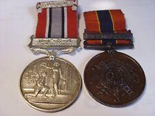 Fire Brigade Medals  Middlewich Cheshire Edward J McSpadden WW2