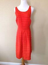 NWT Anthropologie Bright Orange Tangelo Dress by Eva Franco, Size 4