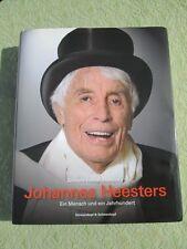 JOHANNES HEESTERS *Hand Signed!  Ein Mensch Und Ein Jahrhundert Orig. German Ed.
