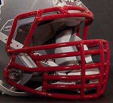 JUSTIN TUCK style Riddell Revolution SPEED Football Helmet Facemask - SCARLET