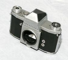 Praktica IV 35mm SLR film camera. M42 screw mount. With Original Leather Case